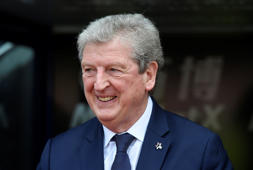"Soccer Football - Premier League - Crystal Palace vs Brighton & Hove Albion - Selhurst Park, London, Britain - April 14, 2018   Crystal Palace manager Roy Hodgson before the match         Action Images via Reuters/Alan Walter    EDITORIAL USE ONLY. No use with unauthorized audio, video, data, fixture lists, club/league logos or ""live"" services. Online in-match use limited to 75 images, no video emulation. No use in betting, games or single club/league/player publications.  Please contact your account representative for further details."