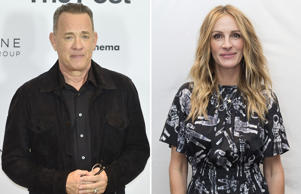 Mandatory Credit: Photo by Flavio Lo Scalzo/AGF/REX/Shutterstock (9321544q) Tom Hanks The Post photocall in Milan, Italy - 15 Jan 2018; Embargoed USA 4th December 2017 Mandatory Credit: Photo by Sundholm Magnus/action press/REX/Shutterstock (9191081l) Julia Roberts 'Wonder' film photocall, Langham Hotel, London, UK - 05 Nov 2017