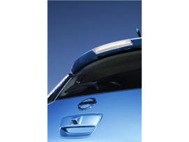 a close up of a person: 2012 Nissan Leaf