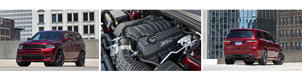 the engine of a car: Durango-SRT