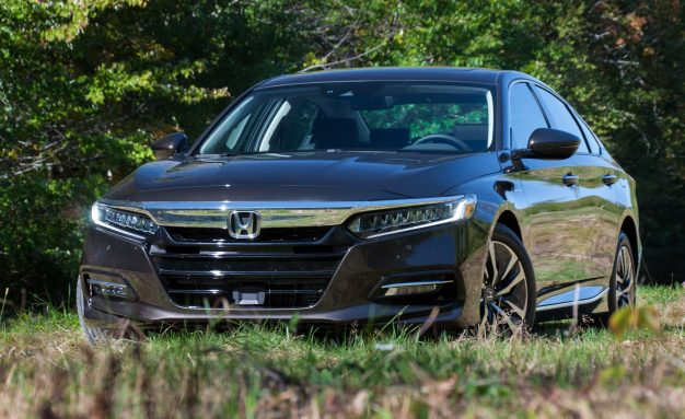 A Car Parked In The Grass: 2018 Honda Accord Hybrid Chops More Than $4K