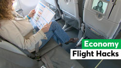 6 Economy Flight Comfort Hacks