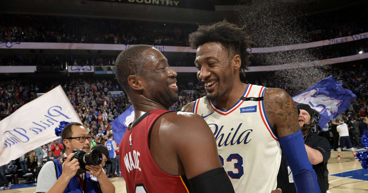 3456163552da Dwyane Wade offers high praise for 76ers   This is the future of the NBA