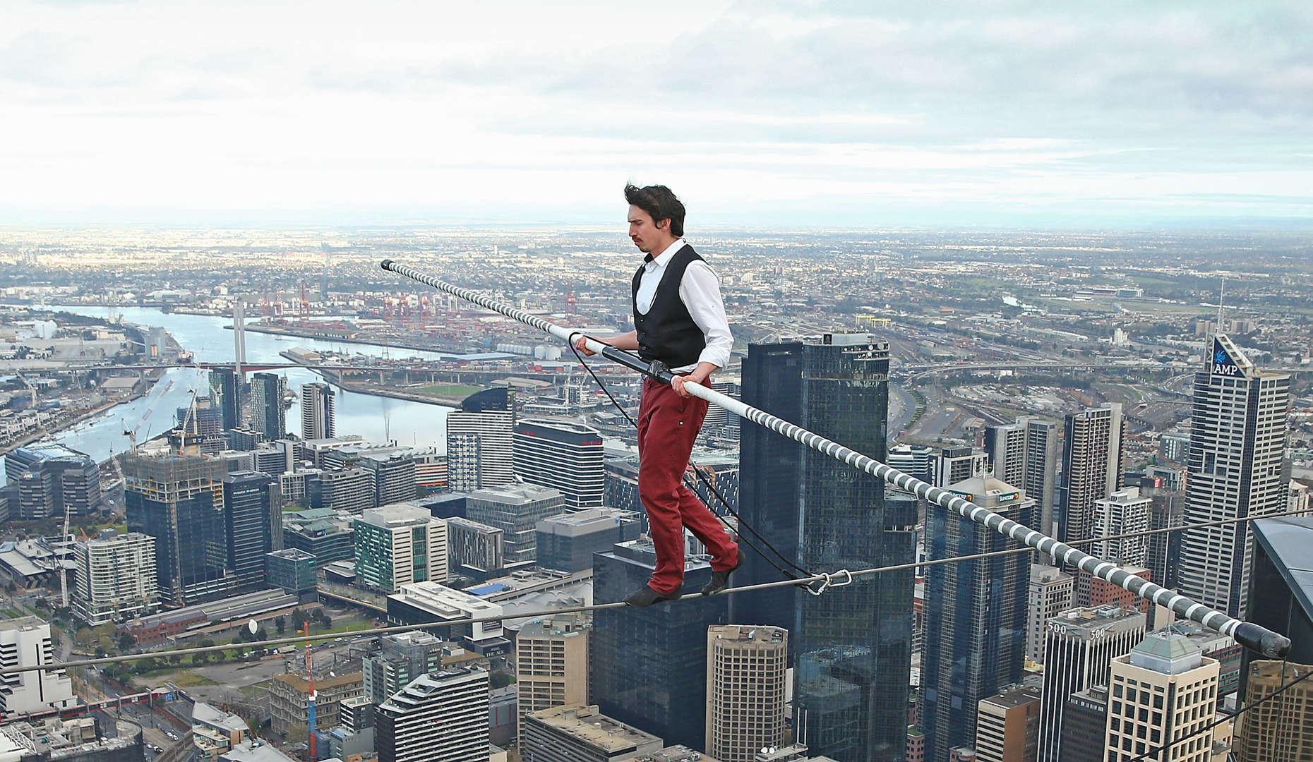 Living on the edge: Memorable death-defying stunts