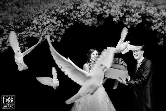 Slide 49 de 60: As melhores fotos de casamento de 2018