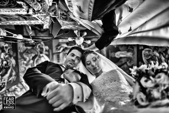 Slide 1 de 60: As melhores fotos de casamento de 2018