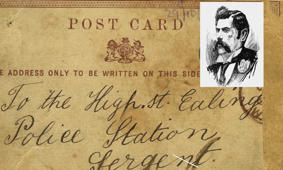 Postcard allegedly written by 'Jack The Ripper' goes up for auction