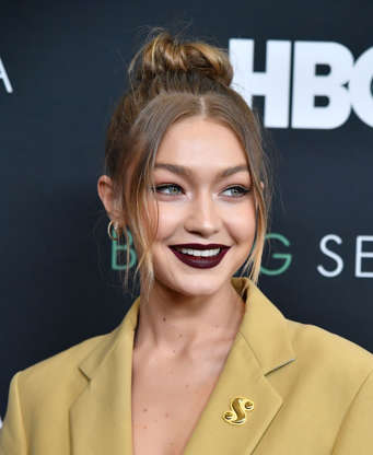 7f177a5f84e89 Slide 4 of 31  Gigi Hadid attends the HBO New York Premiere of  Being