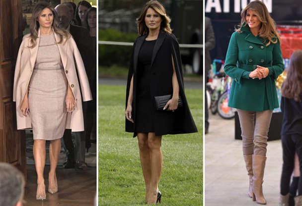 382f2f7f70 Confira os looks de Melania Trump  a estilosa primeira-dama dos EUA
