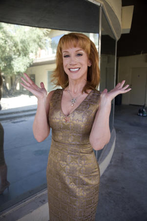 KATHY GRIFFIN: MY LIFE ON THE D-LIST -- 'Kathy Griffin Star on the Palm Springs Walk of Stars' -- Pictured: Kathy Griffin -- (Photo by: Janet Van Ham/Bravo/NBCU Photo Bank via Getty Images)