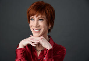 In this March 22, 2018 photo, comedian Kathy Griffin poses for a portrait in Los Angeles. (Photo by Chris Pizzello/Invision/AP)