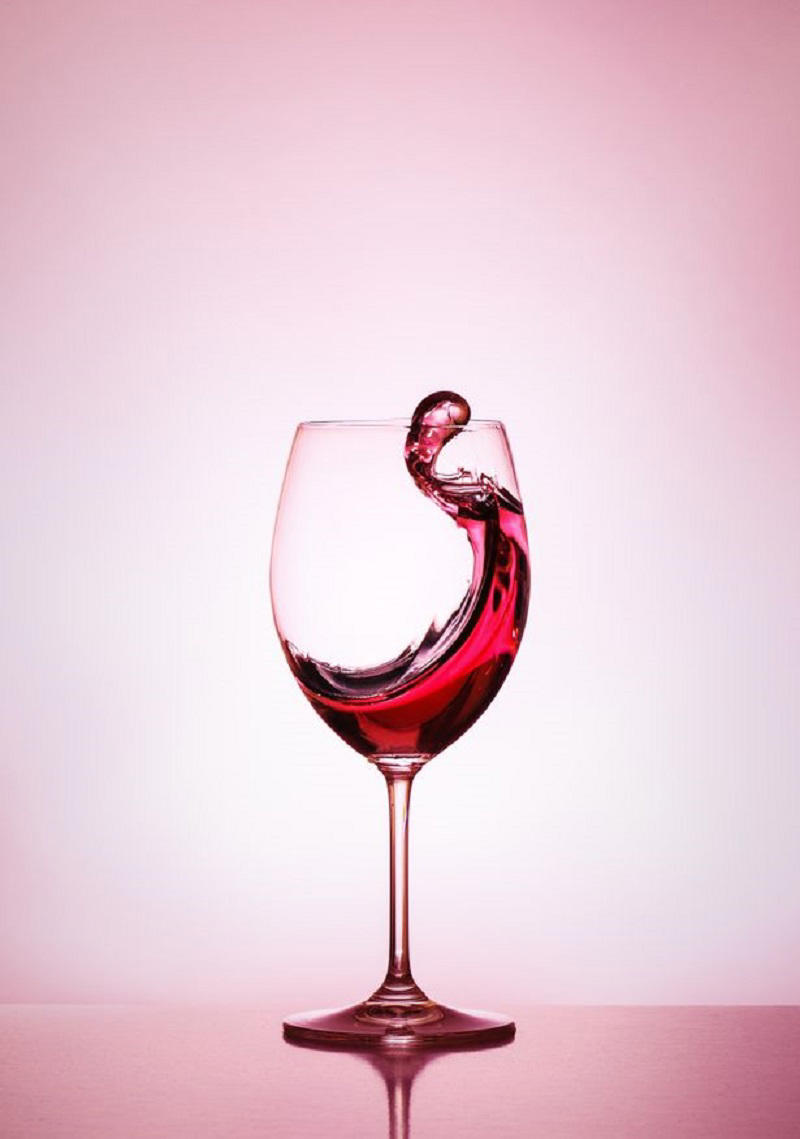 Levels of the natural chemical resveratrol are said to be 10 times higher in red wine than in white (Image: EyeEm)