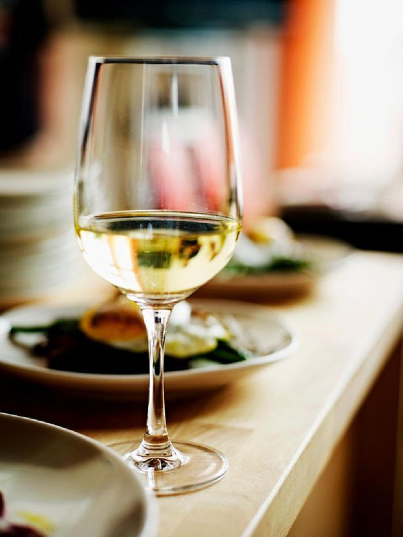 The same amount of white wine could increase the risk of developing the disease, researchers warned (Image: Digital Vision)
