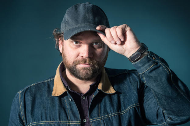 Slide 4 of 35: EDINBURGH, SCOTLAND - AUGUST 18:  Scottish singer, songwriter, guitarist and artist Scott Hutchison, member of indie rock band Frightened Rabbit, attends a photocall during the annual Edinburgh International Book Festival at Charlotte Square Gardens on August 18, 2017 in Edinburgh, Scotland.  (Photo by Roberto Ricciuti/Getty Images)