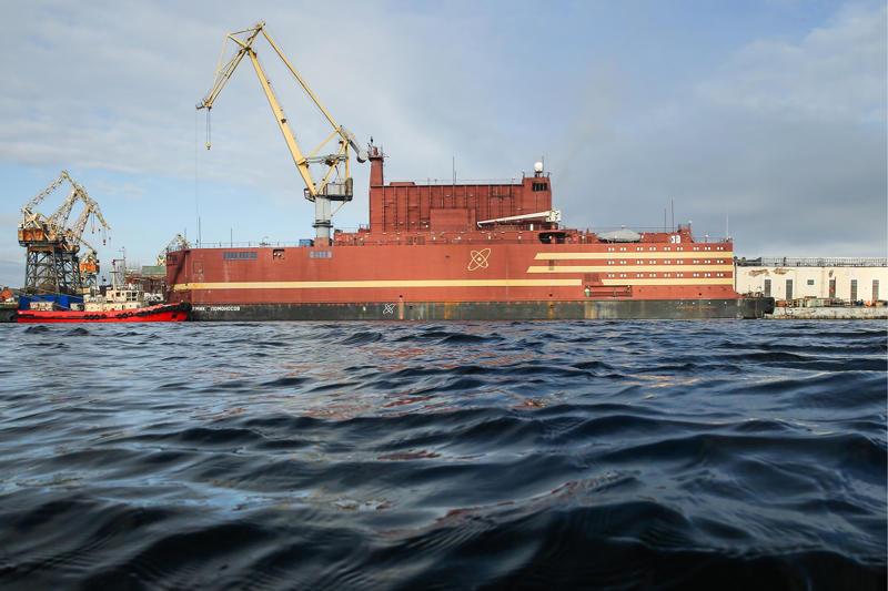 The dual-reactor Akademik Lomonosov will begin operations in Pevek next year.