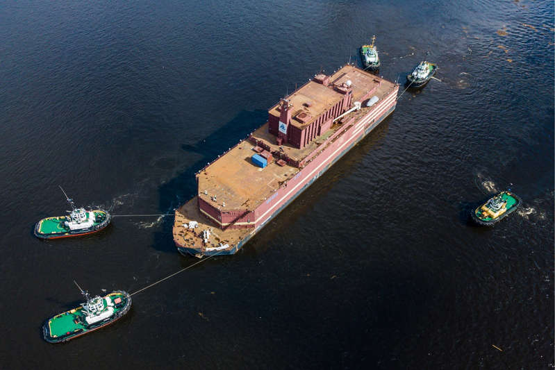 The Akademik Lomonosov is designed to provide energy for hard-to-reach coastlines.
