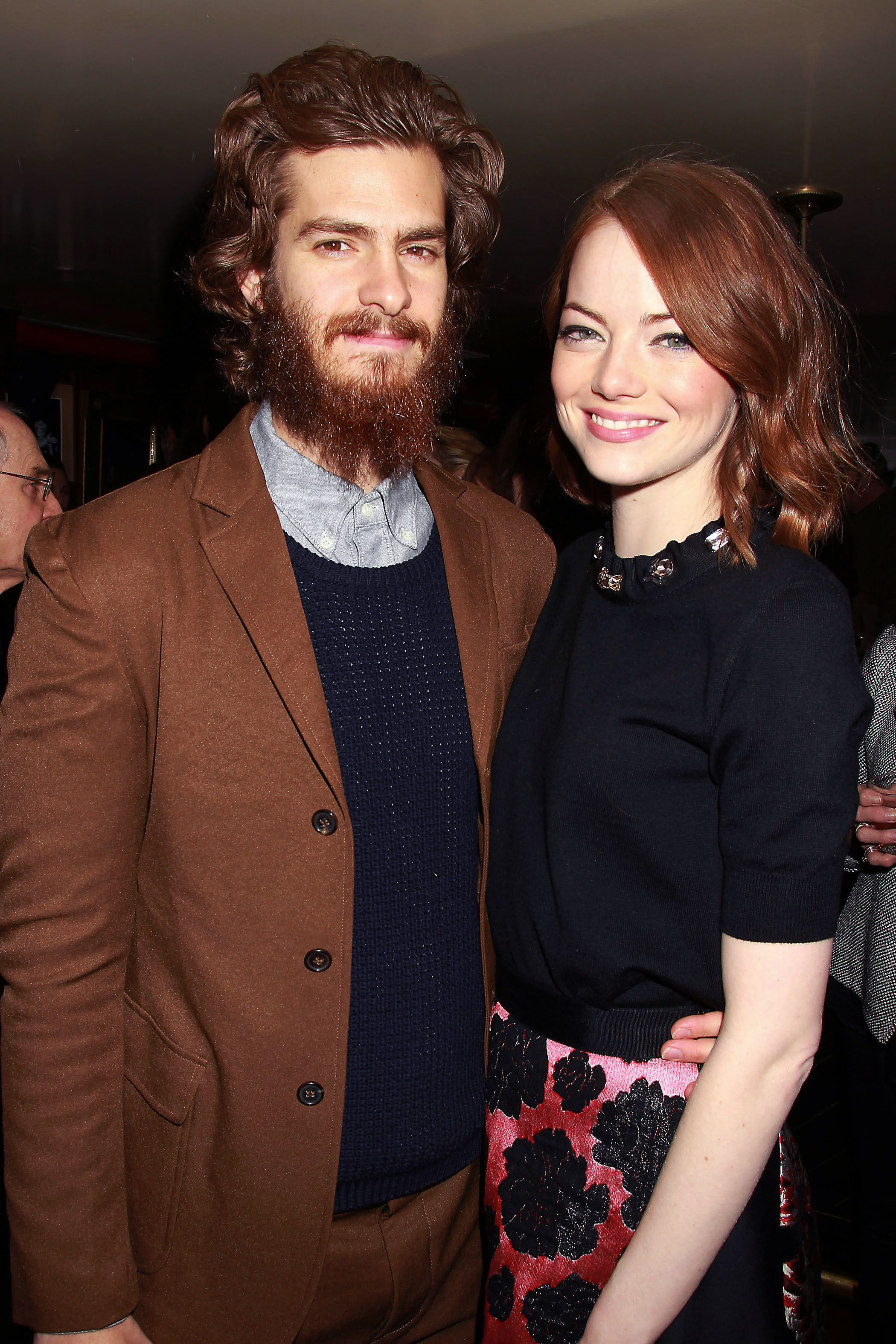 Who is andrew garfield hookup right now