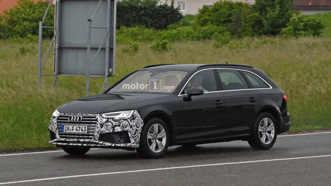 Audi A4 Refresh Spy Photos