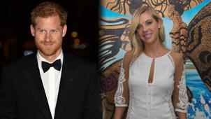 Prince Harry standing posing for the camera: Prince Harry and Ex Chelsy Davy Reportedly Shared Tearful Phone Call Before Royal Wedding