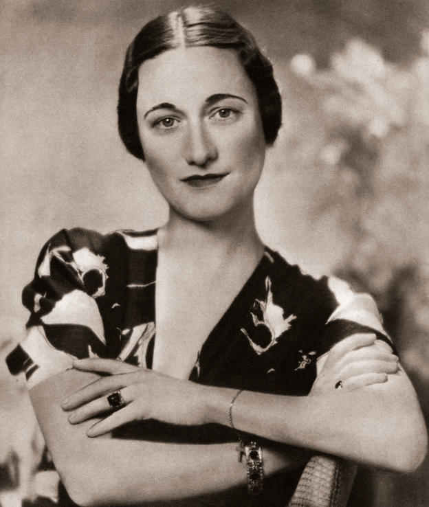 Wallis Simpson, later the Duchess of Windsor, born Bessie Wallis Warfield, 1896 – 1986. American socialite married to Prince Edward, Duke of Windsor, formerly King Edward VIII of the United Kingdom. From the Coronation Souvenir Book published 1937. (Photo by: Universal History Archive/UIG via Getty Images)