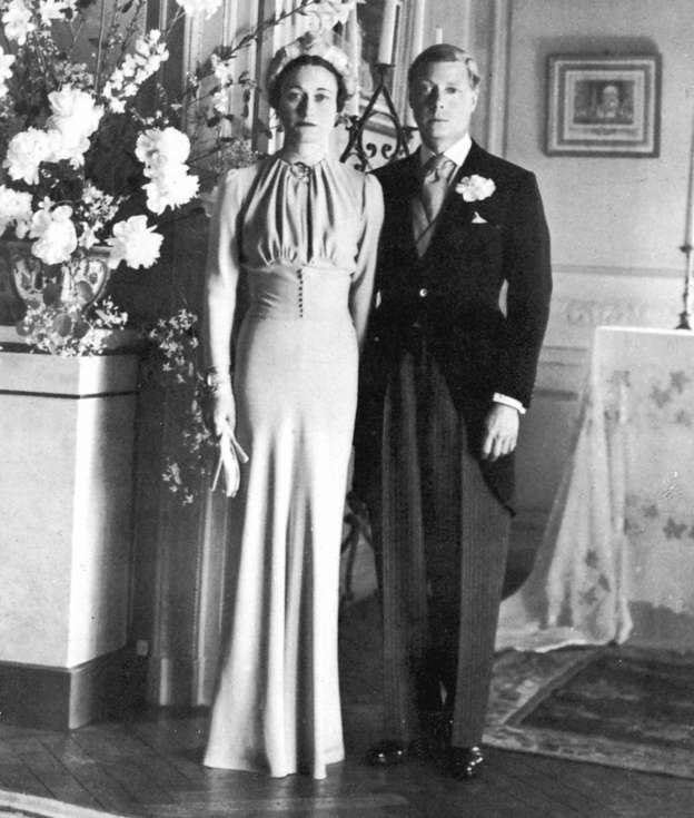 The marriage of the Duke of Windsor and Wallis Simpson, 3 June 1937. (Photo by: Photo12/UIG via Getty Images)