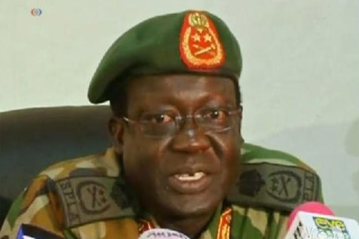 General James Hoth Mai, the former chief of staff to Sudan's People's Liberation Army.