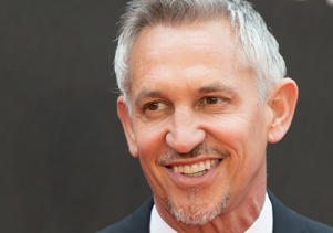 Gary Lineker attends The Olivier Awards with Mastercard at Royal Albert Hall on April 8, 2018 in London, England.