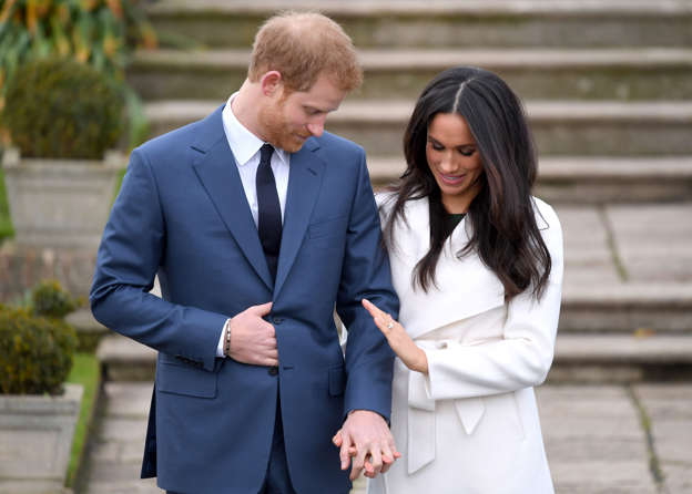 File: Announcement Of Prince Harry's Engagement To Meghan Markle