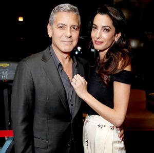 George Clooney and Amal Clooney: A source confirmed to Us that the A-list couple will travel to London for the reception.
