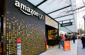 Atmosphere Amazon Go store opening, Seattle, USA - 22 Jan 2018