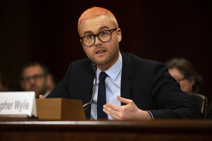 """Wylie, who flew here from London to testify before the Senate Judiciary Committee, was asked by Sen. Dianne Feinstein, D-Calif., whether it's possible that the Facebook data """"ended up in Russia."""""""