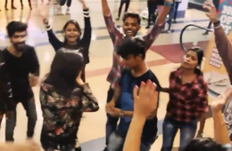 Flash mob turns into surprise marriage proposal