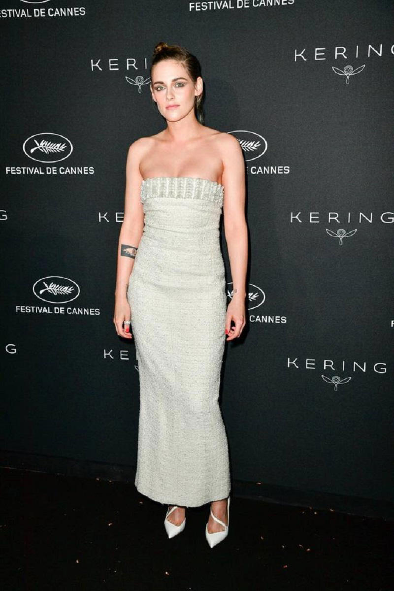 Kristen Stewart at the Cannes Film Festival dinner party (E-Press / Splash News)