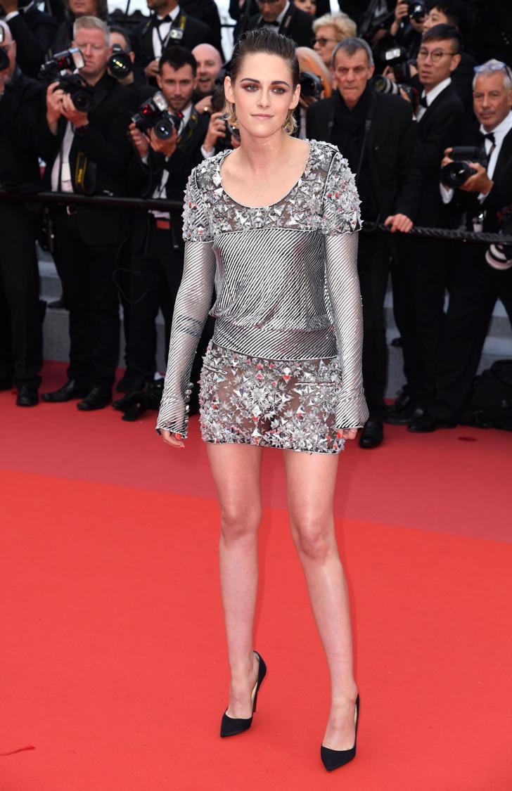Kristen Stewart attending the BlacKkKlansman Premiere at the Palais De Festival, part of the 71st Cannes Film Festival.