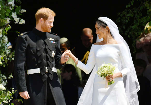 A Man And Woman In Wedding Dress Prince Harry Duke Of Sus