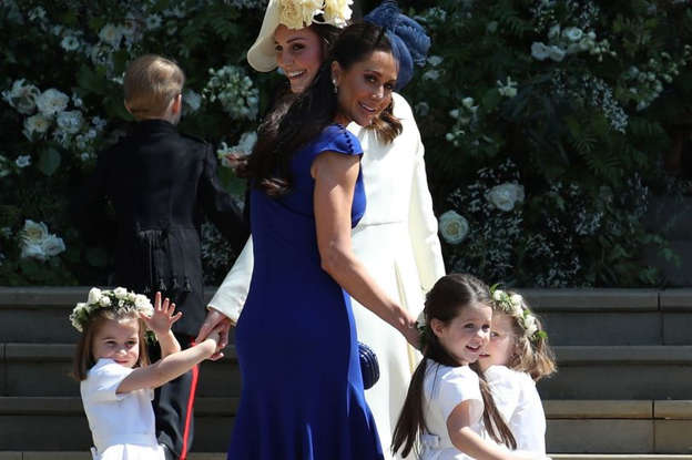 ccf3fcc7 Kate Middleton accused of trying to upstage bride Meghan Markle with ...