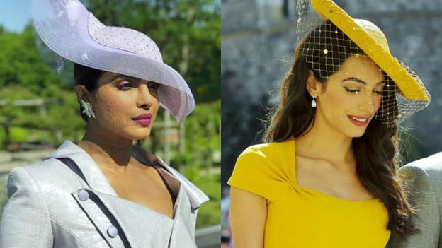 4ea90cf14fb90 Royal Wedding 2018  From Priyanka Chopra To Amal Clooney
