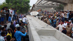Varanasi flyover collapse: Manager, cops blame each other