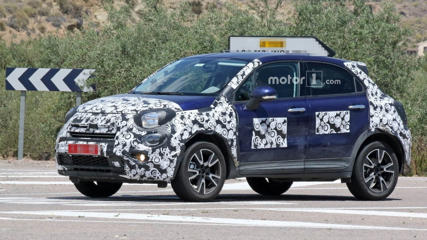 2019 Fiat 500X facelift spy photo