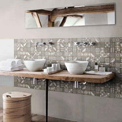 15 tendances céramique pour la salle de bain