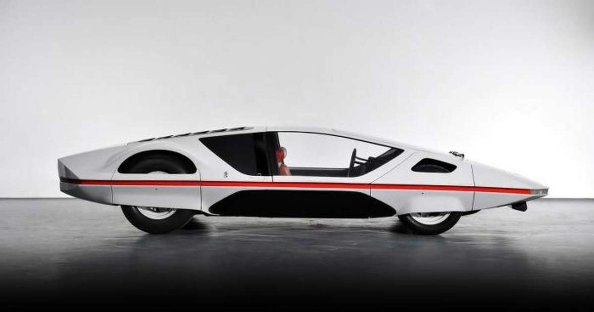 1970 ferrari 512s modulo concept hits the road for the first time. Black Bedroom Furniture Sets. Home Design Ideas