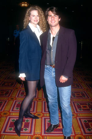 Actress Nicole Kidman and  actor Tom Cruise