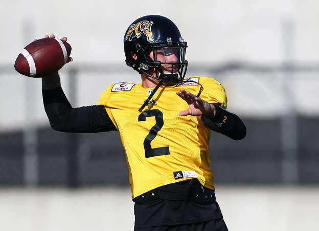 Johnny Manziel s CFL debut with Hamilton Tiger-Cats a positive step in football  comeback 4486630c2
