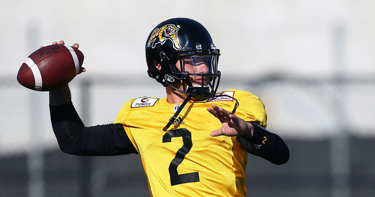 9058f9ca867 Johnny Manziel's CFL debut with Hamilton Tiger-Cats a positive step in  football comeback