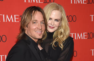 Keith Urban, left, and Nicole Kidman