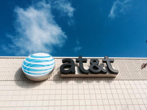 The AT&T store at Jacksonville Beach, Florida, USA.