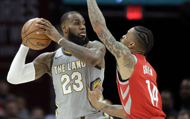 4520649f1980 LeBron James reportedly looks at schools in Houston