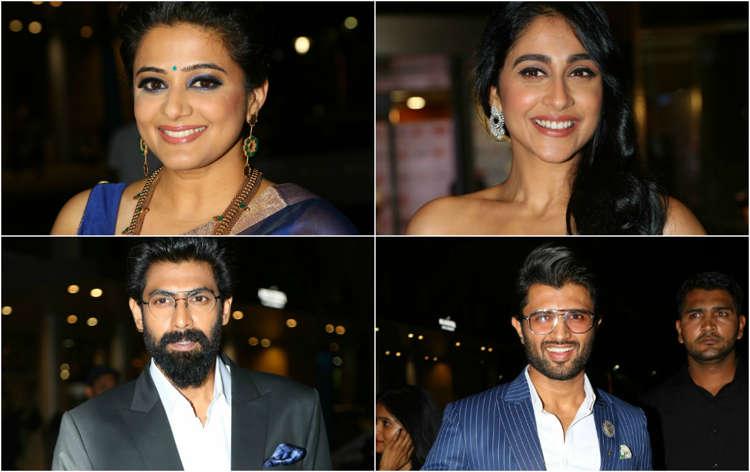 Stars at 65th Filmfare Awards (South) 2018