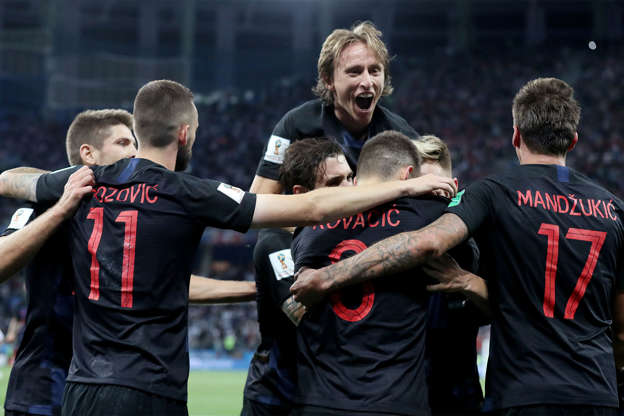 348173d4ca6 Classy Croatia rout Argentina to reach second round