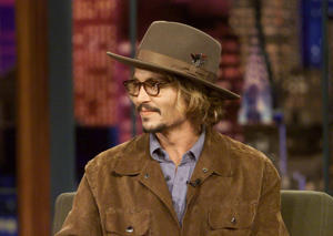 Pictured: Actor Johnny Depp during an interview on June 27, 2003